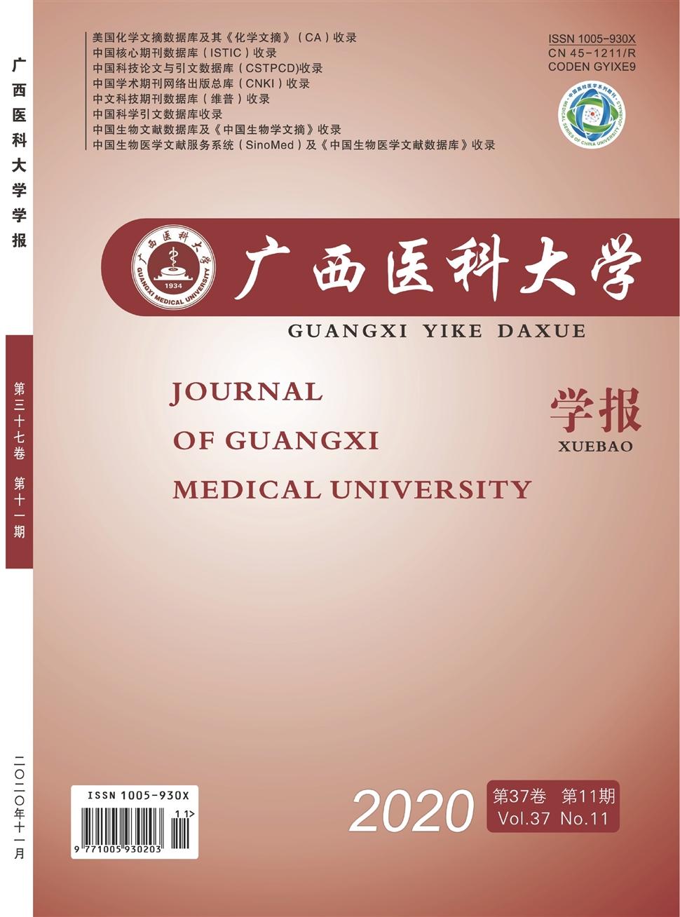 《广西医科大学学报》