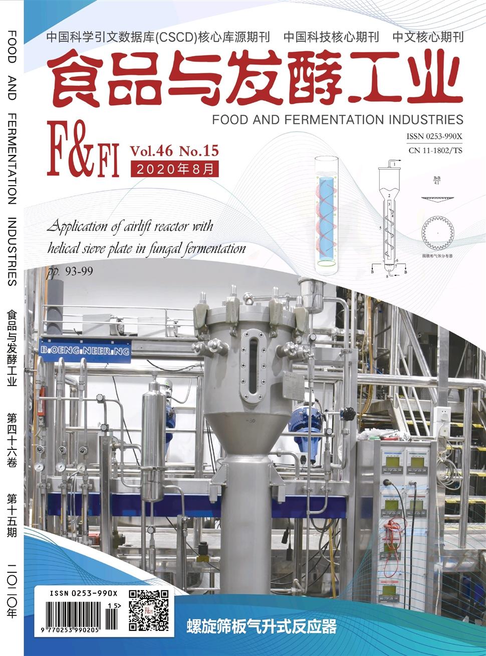 《食品与发酵工业》