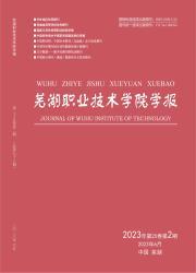 《芜湖职业技术学院学报》