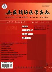 《安徽预防医学杂志》