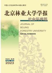 《北京林业大学学报:社会科学版》