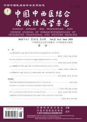 《中国中西医结合皮肤性病学杂志》