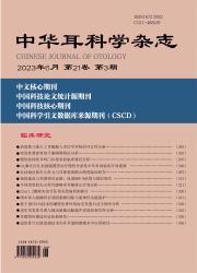 《中华耳科学杂志》
