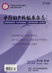 《中国妇产科临床杂志》