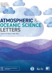 《大气和海洋科学快报:英文版》