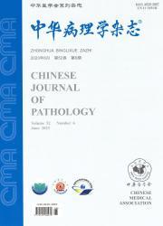 《中华病理学杂志》
