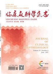 《临床麻醉学杂志》
