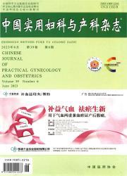 《中国实用妇科与产科杂志》