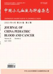 《中国小儿血液与肿瘤杂志》