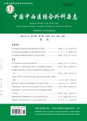 《中国中西医结合外科杂志》