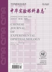 《中华实验眼科杂志》