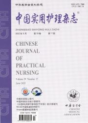 《中国实用护理杂志》