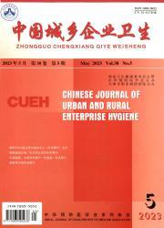 《中国城乡企业卫生》