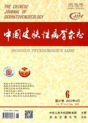 《中国皮肤性病学杂志》