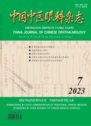 《中国中医眼科杂志》