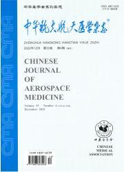 《中华航空航天医学杂志》