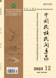 《中国民族民间医药》