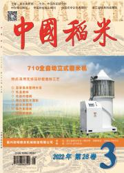《中国稻米》