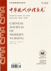 《中华现代护理杂志》